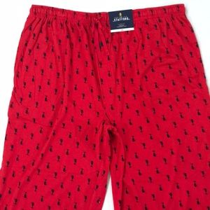 Stafford Sleep Lounge Pajama Pants Seahorse